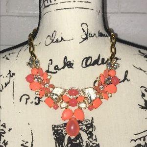 J. Crew Bubble bib necklace